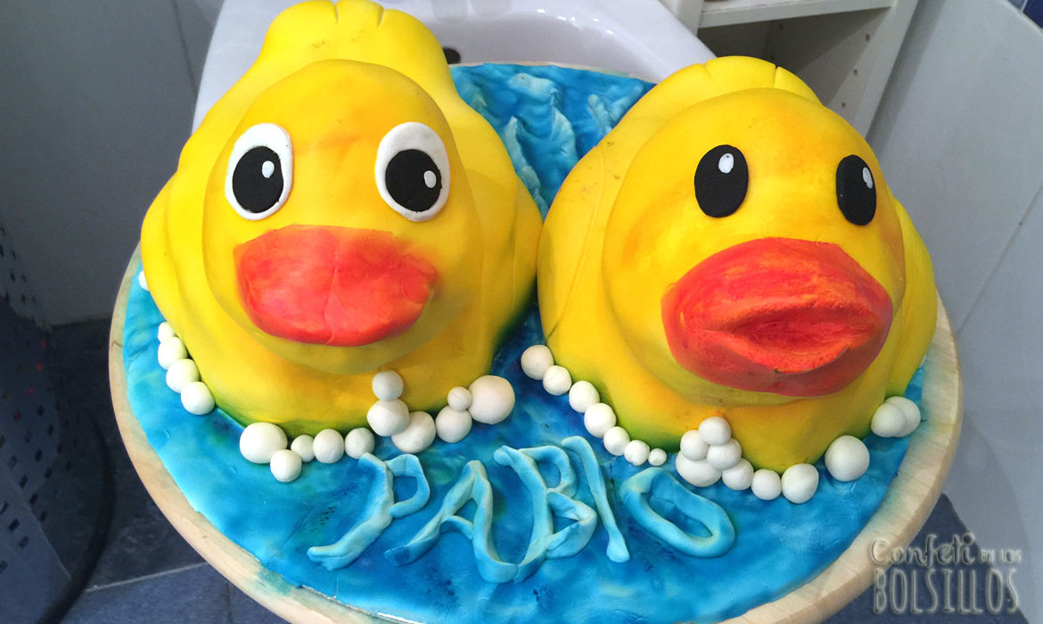 Tarta los 2 patitos 22