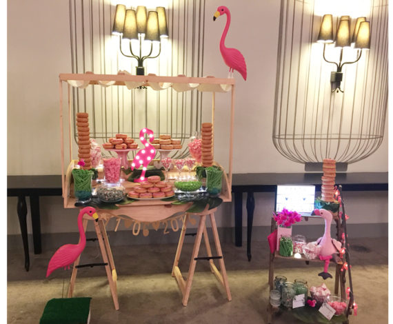 Candy bar Flamingo