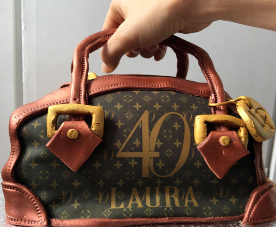 Tarta bolso 40 years Laura