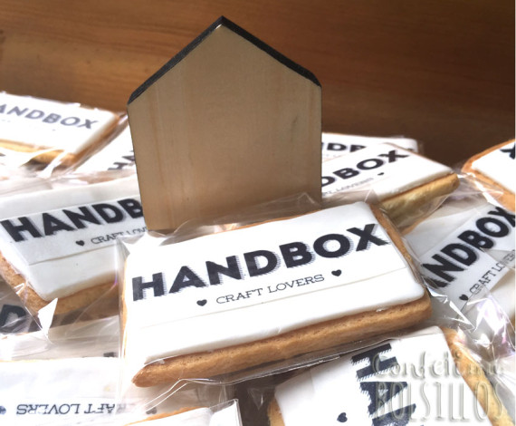 Galletas corporativas Handbox