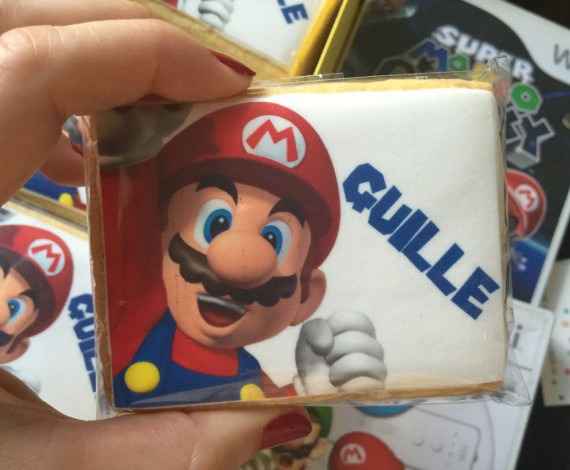 Galletas Mario Bross