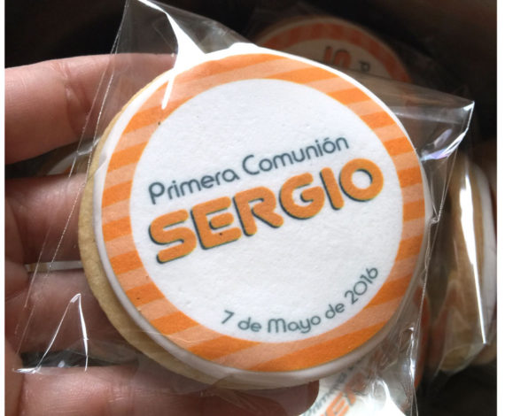 Galletas comunion personalizadas
