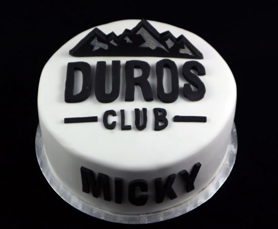 Tarta corporativa Duros Club