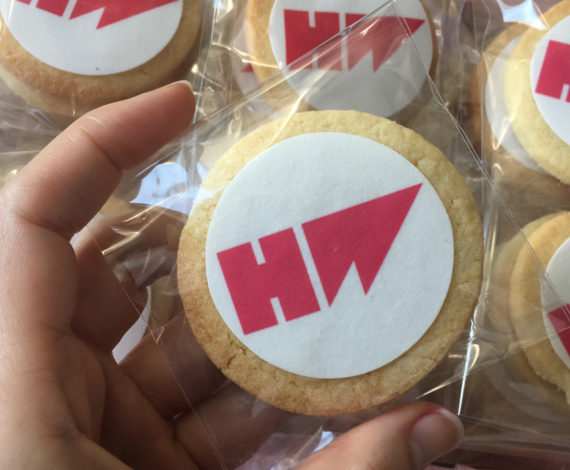 Galletas corporativas empresa Hotwire